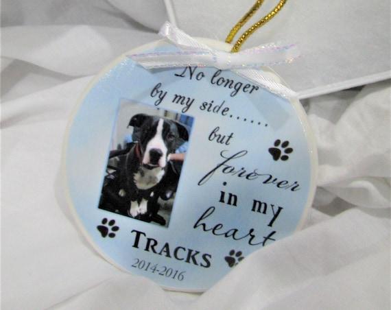 Pet Memorial Ornament, Custom Pet, Sympathy Gift, Friend Gift