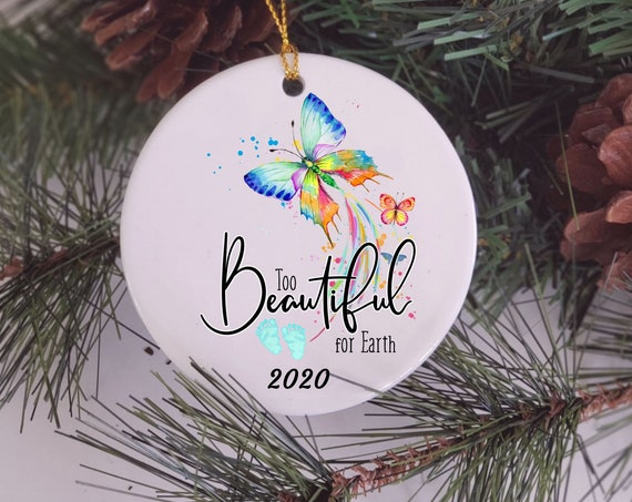 Miscarriage Ornament, Baby Memorial, Christmas, Sympathy Gift
