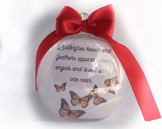 Personalized Christmas memorial ornament  Unique Gifts Personalized gifts