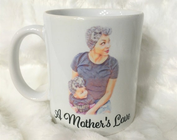 African American Mom Mug, Christmas Gift, Gift for Mom, Gift for her