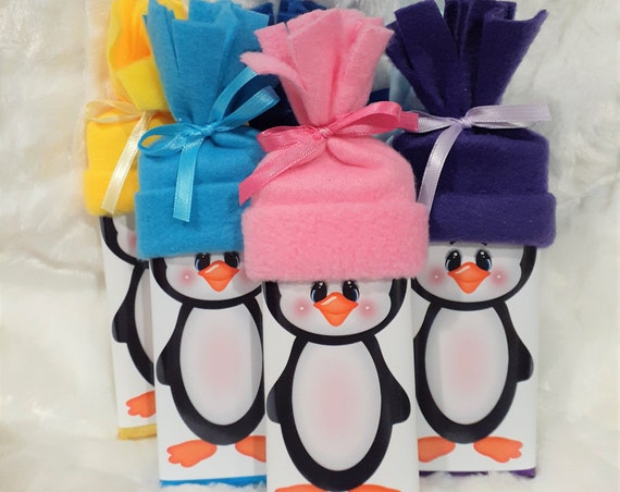 Cute Valentine Gift for Kids, Penguin Gift, Personalized Gift for Grandchildren