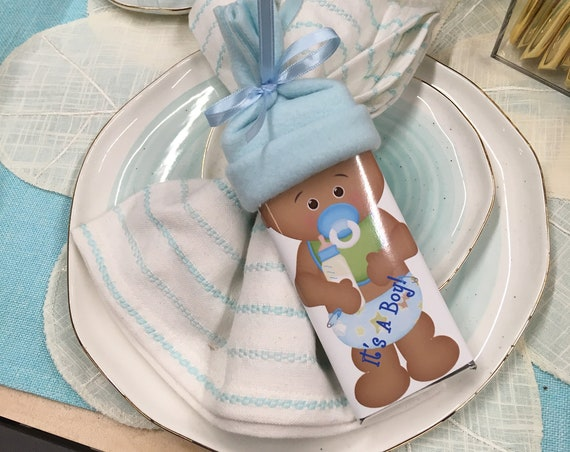 African American baby shower - baby shower favors - baby boy - baby girl - baby shower favor - personalized - girl baby shower- boy shower