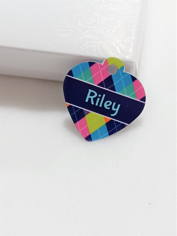 Pet Tag, Pet Name Tag, Small Pet ID, New Puppy Gift