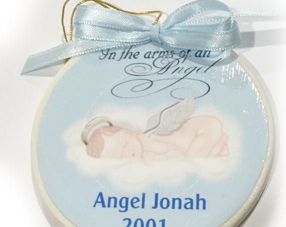 Baby Loss Memorial Ornament, Sympathy Gift, Gift for Loss of Baby