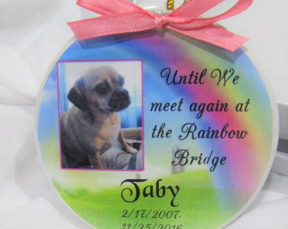 Personalized Pet Memorial Ornament, Christmas Gift, Family Gifts, Gift For Her