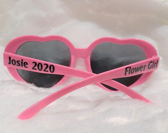 Flower Girl Gifts, Personalized Sunglasses, Wedding, Gift for Flower Girl