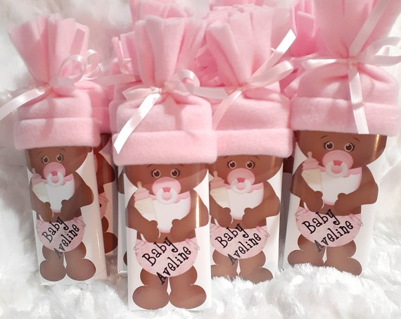 Princess Baby Shower Favors, African American, Baby Shower, Thank You Gifts