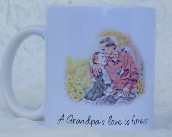 Grandpa Gift from Granddaughter, Coffee Mug, Christmas Gift, Grandpa Gift