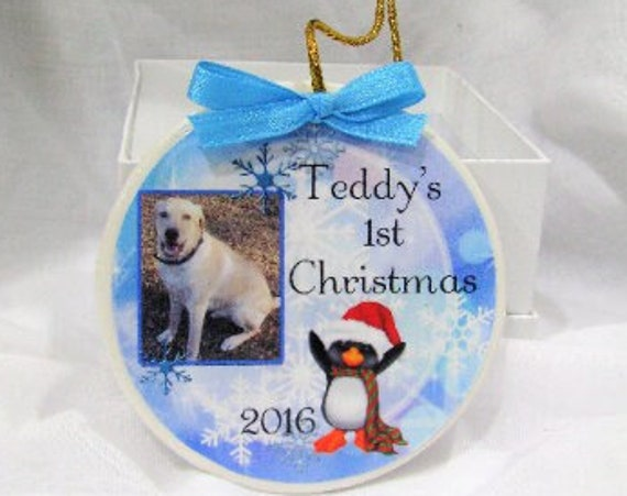 New Puppy Gift, Puppy Ornament, Dog Ornament, Christmas, Pet Lover Gift