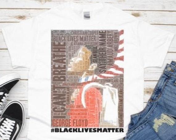 Black Lives Matter, African American Equality Shirt, Black Lives Matter Graphic Tee