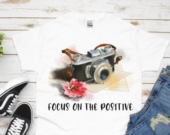 Focus On The Positive, Birthday, Gift for Girlfriend