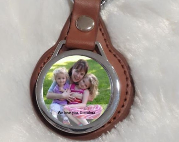 Personalized Gift for Grandma, Custom Keychain, Christmas, Gift from Grandchildren