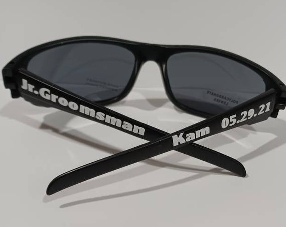Groomsman Gift, Groomsman Sunglasses, Jr. Groomsman, Ring Bearer