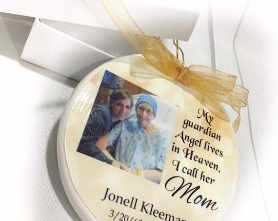 Christmas ornament - In Memory of - Memorial Ornament - Memorial Gift- Sympathy Gift