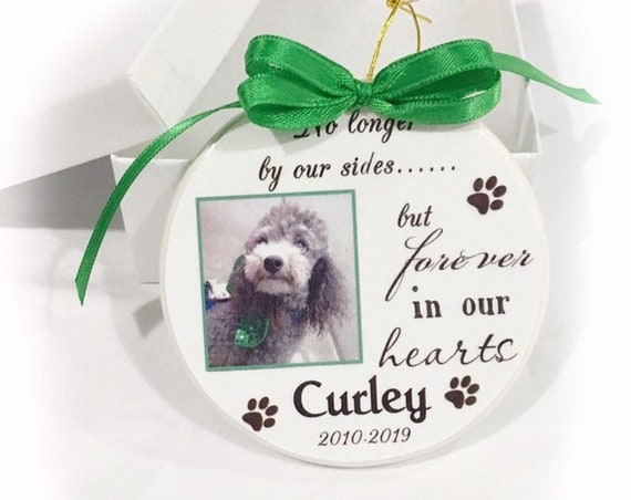 Personalized Pet Memorial Ornament, Christmas Gift, Family Gift, Gift for her, Dog Memorial, Cat Memorial