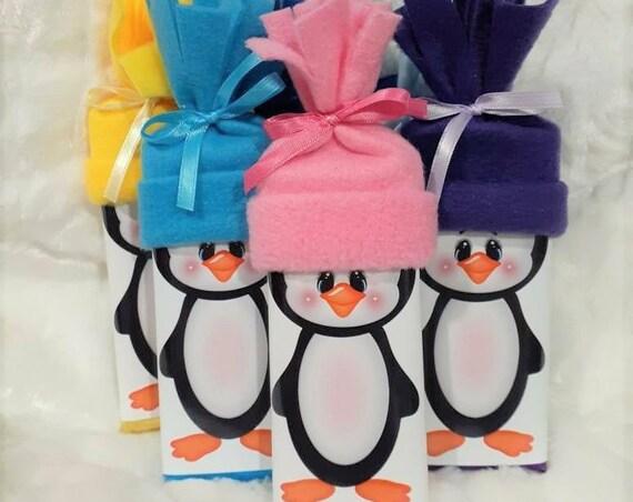 Stocking Stuffer,  Stocking Stuffers, Christmas Gift,  Personalized,  Penguin Gift Chocolate, Gifts under 15