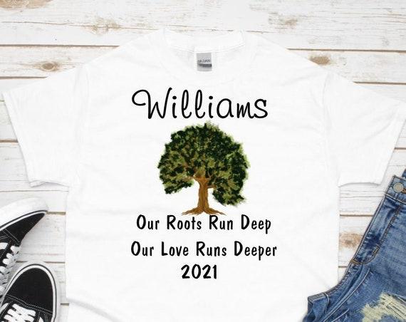 Family Reunion Shirts, Family Shirt, Roots Run Deep, Family Reunion Gift