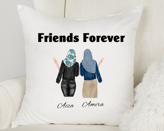 Eid Gifts, Friends Throw Pillow, Ramadan, Friend Gift