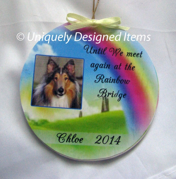 Personalized Pet Memorial Ornaments