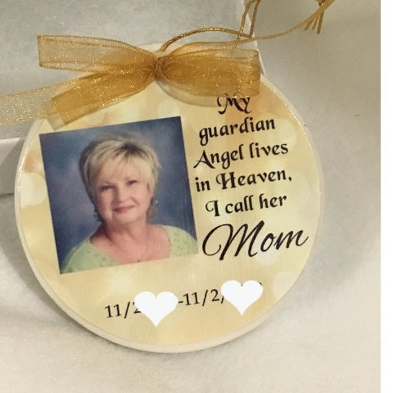 Personalized Memorial Ornament, In Memory Of, Christmas, Gift for Husband