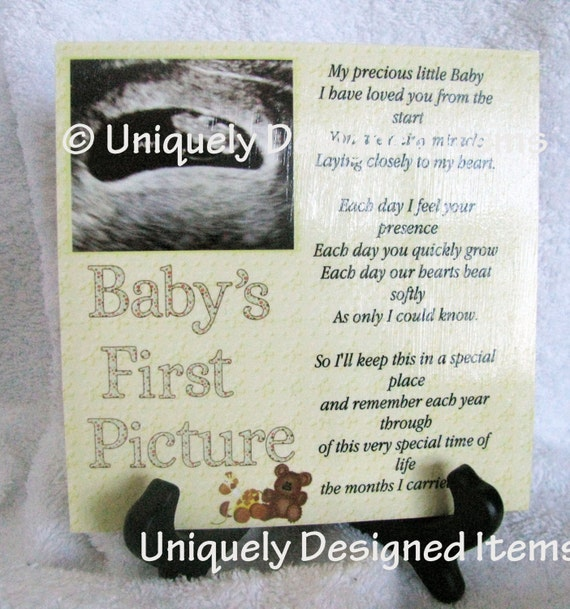 Ultrasound Gift Sonogram Gift love at first sight gift for baby