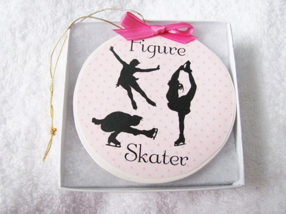 Figure Skating - Figure Skating Gift - Ice skating - Figure Skater - Figure Skater Gift - Christmas Ornament - Personalized if wanted