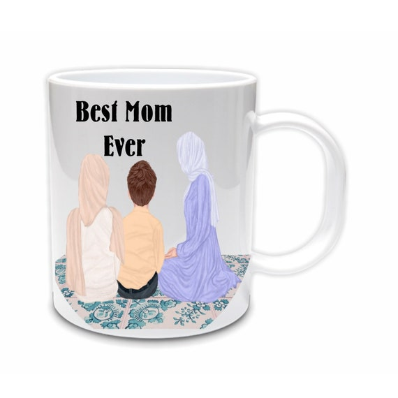 Personalized Mom Mug, Ramadan, Eid Gift for Mom