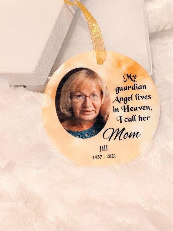 Sympathy Gift Loss of Mother, Bereavement Gift, Christmas, Personalized Ornament, Gift for Mom