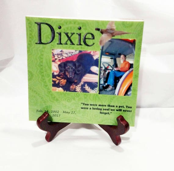 Personalized Pet Memorial, Pet Memorial Plaque, Pet Loss, Gift for her, Gift for him, Gift for Pet Lover