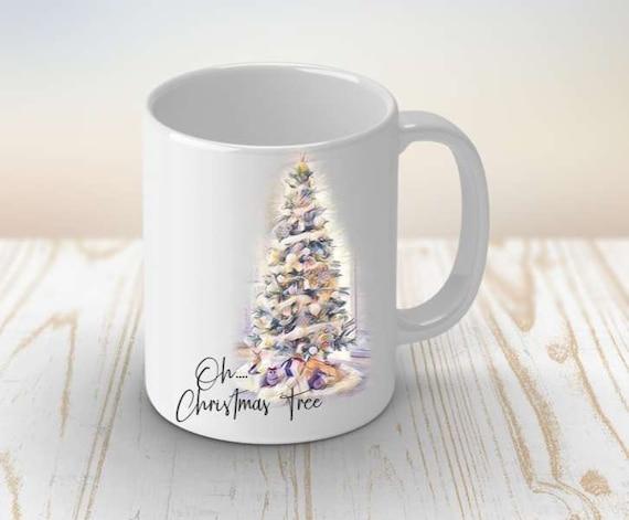 Oh Christmas Tree Coffee Mug, Christmas Gift, Coworker Christmas Gift, Boss Christmas Gift, Secret Santa Gift