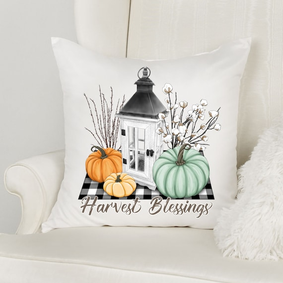 Fall Pillow Cover, Thanksgiving, Autumn, Mom Gift
