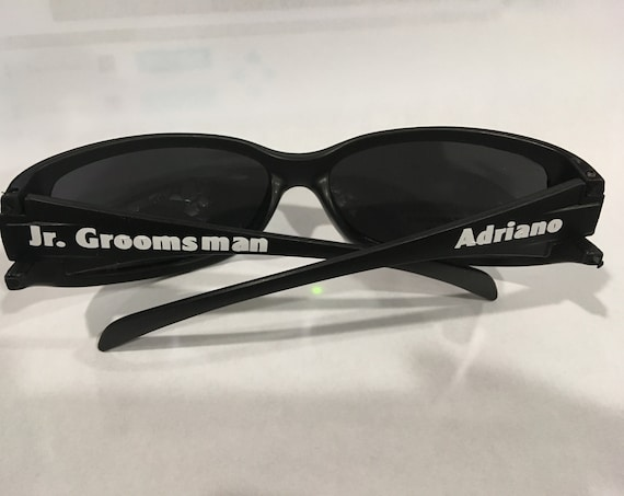 Groomsman Sunglasses, Wedding, Gift for Junior Groomsman