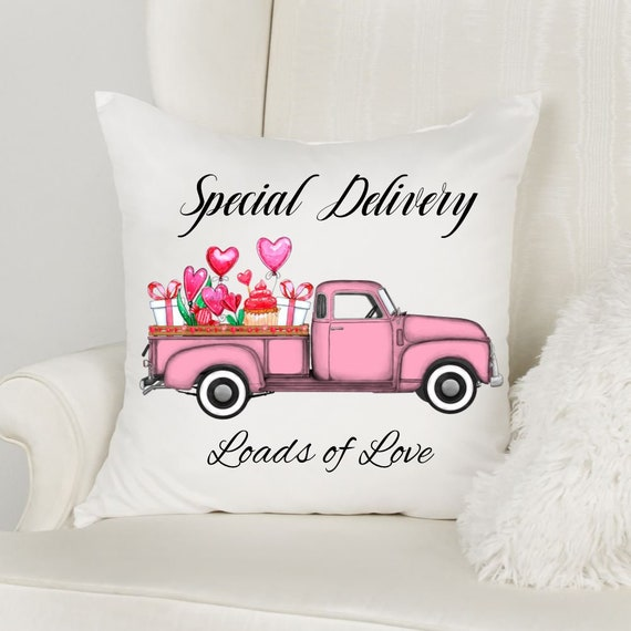 Valentine Pillow Cover, Throw Pillow, Valentine's Day, Gift for Mom