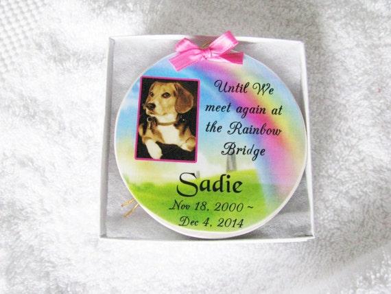Personalized Pet Memorial Ornament, Christmas Gift, Pet Loss, Gift for Women, Gift for Men, Family Gift