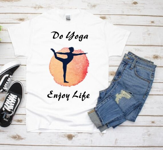 Yoga Shirt, Namaste Shirt, 40th Birthday, Gift for Wife, Gift for Girlfriend
