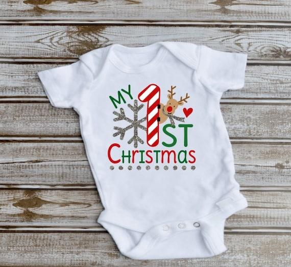 Baby Girl Christmas Outfit, Christmas, Newborn Gift