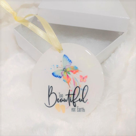 Custom Miscarriage Ornaments For Heather