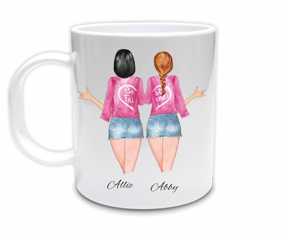 Personalized Best Friend Mug, Birthday Gift for Best Friend