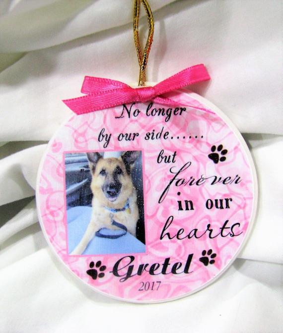 Dog Memorial Gift, Christmas Memorial Ornament, Gift for Dog Mom
