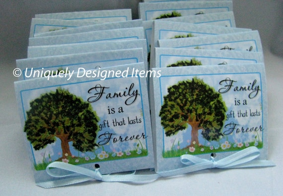 Family reunion favor- family reunion-party favors-family reunions-personalized-family reunion ideas-mint to be favors-mint to be-mint to be