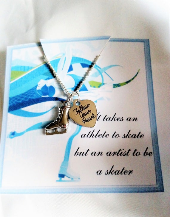 Figuring Skating Gift Figure Skating Necklace Figure Skating gift
