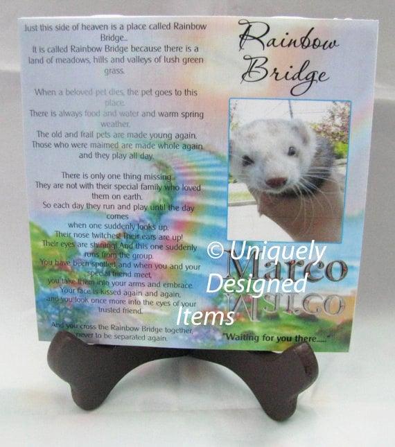 Pet Memorial Plaque, Personalized Pet Memorial, Pet Loss, Gift for Women, Gift for Men, Gift for her
