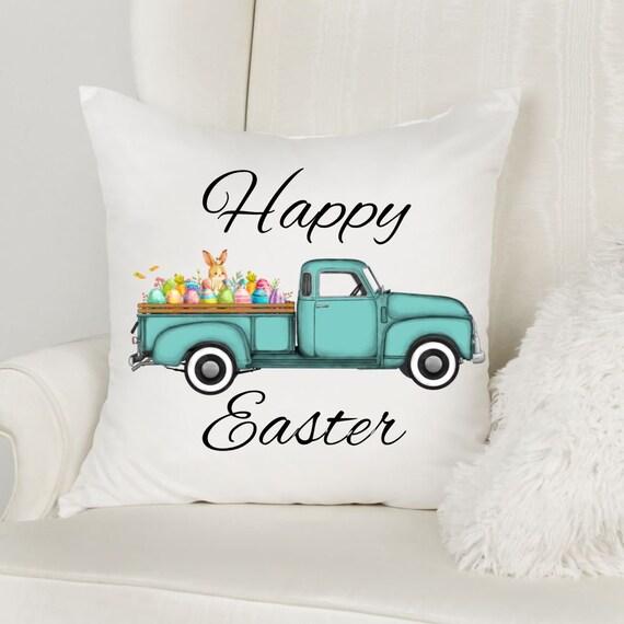 Rustic Easter Decor, Easter Truck, Easter, Gift for Mom