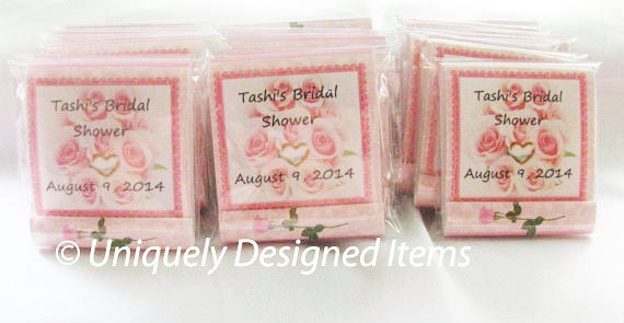 Bridal Shower Favors  Custom mini nail files-- great for baby showers, wedding showers and business