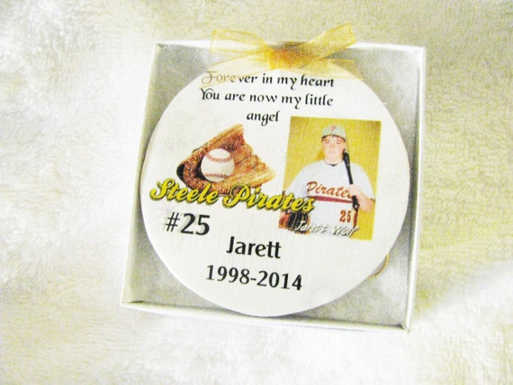 Memorial ornament Christmas ornament Memorial gift Christmas Personalized Ornament Sympathy Gift Custom Ornament Remembrance