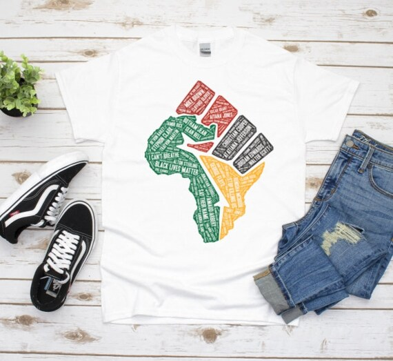 Black Lives Matter Graphic Tee, Equality Shirt, Melanin Shirt, Boyfriend Gift