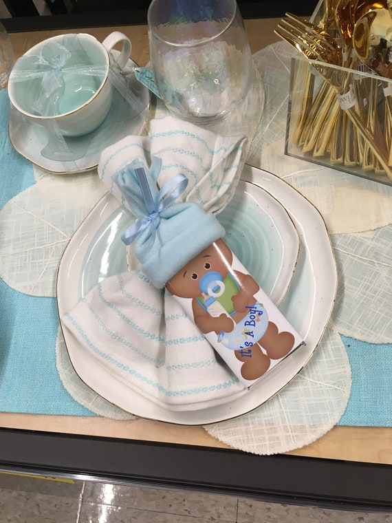 Cute African American Baby Girl or Boy Baby Shower Favor