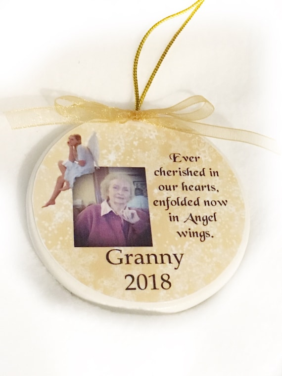 Memorial Ornament - Memorial Keepsake Ornament - Forever In Our Hearts Ornament