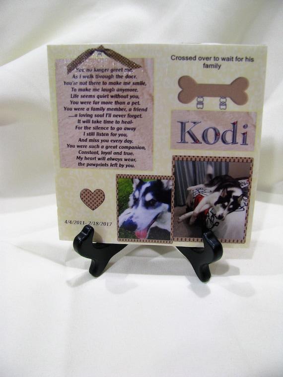 Pet memorial Gift Dog Memorial Cat Memorial Pet loss gift Pet loss