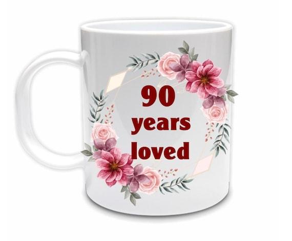 90th Birthday Gift, Birthday, Gift for Mom
